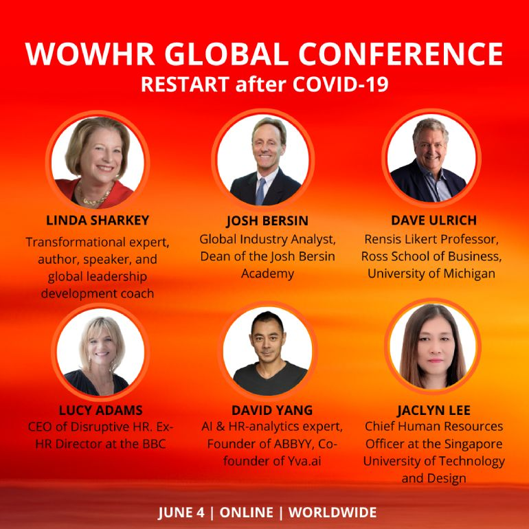 WOWHR GLOBAL CONFERENCE speakers