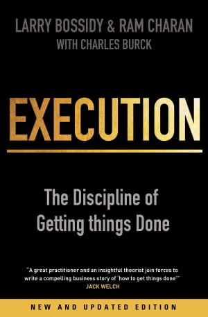 Execution_The Discipline of Getting Things Done