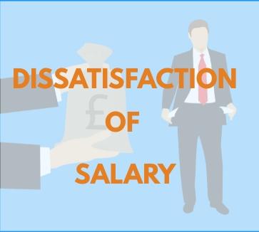 Dissatisfaction of Salary